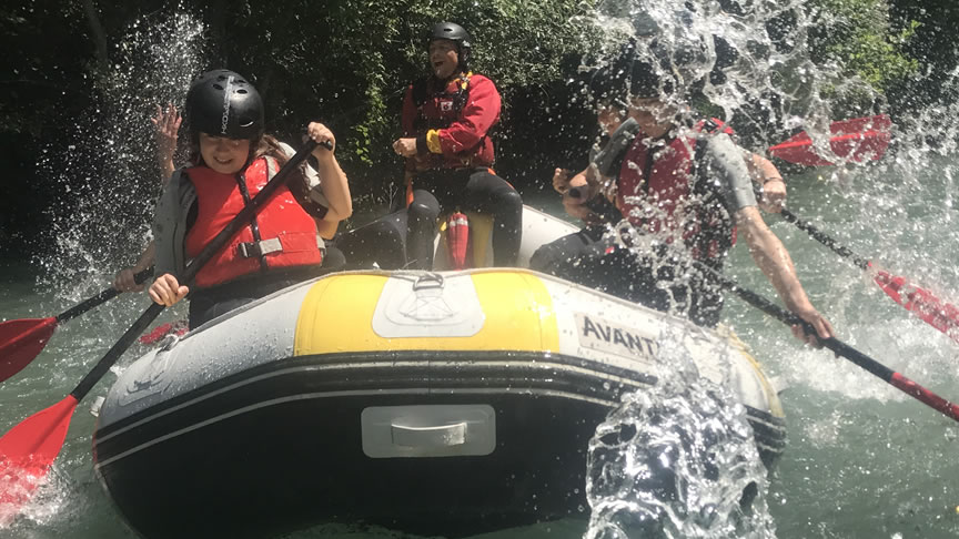 Rafting in Umbria