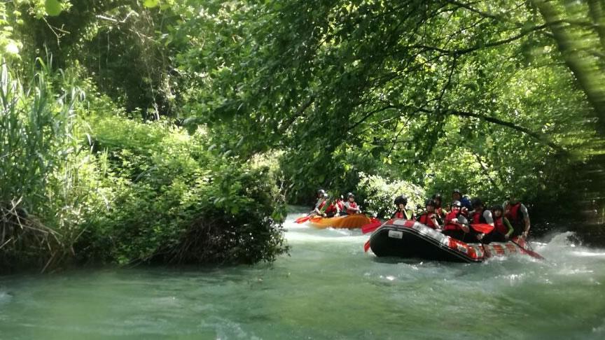 Rafting in Umbria